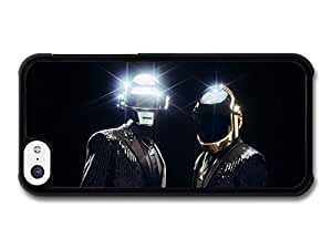 MMZ DIY PHONE CASEDaft Punk Shining Helmets Outfit case for iphone 6 4.7 inch