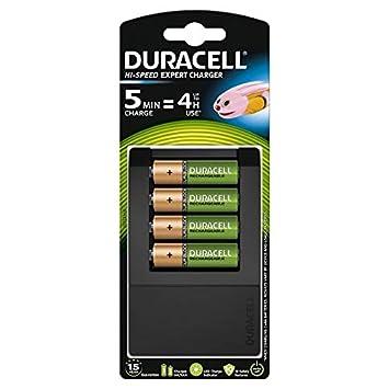 Duracell - Cargador de pilas en 5 minutos