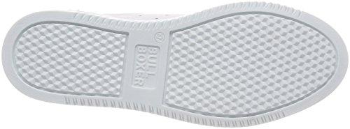 Mujer Bullboxer para Zapatillas 999012e5l White Weiß Trqtrxf