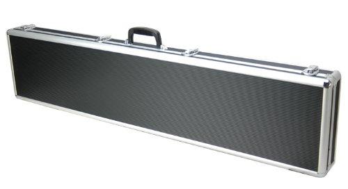 53 Inch Aluminum Gun Case - T.Z. Case International Pro-Tech Single Rifle Shotgun Case, Black, 53-Inch