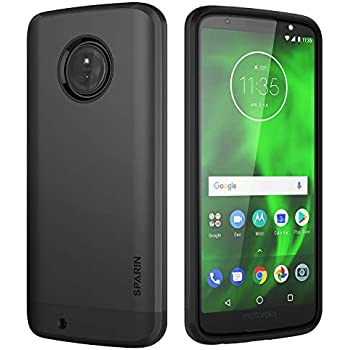 Amazon.com: Spigen Rugged Armor Designed for Moto G6 Case ...