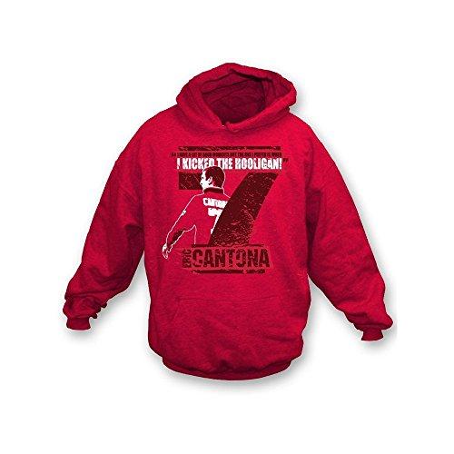 PunkFootball Lincoln halten das Glauben-T-Shirt, Farbe- Rot