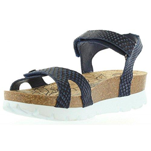 Sandalias de Mujer PANAMA JACK SULIA SNAKE B1 NAPA MARINO