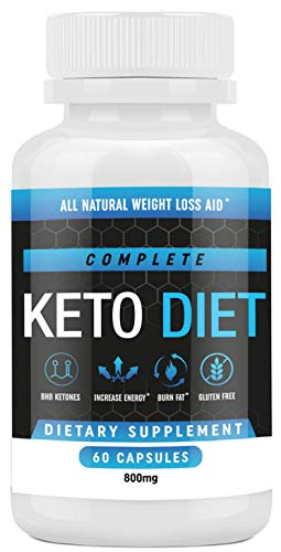 Keto Diet Pills - Weight Loss Fat Burner Supplement for Men and Women - Carb Blocker & Appetite Suppressant Formulated to Compliment a Ketogenic Diet - 60 Capsules (Hbh Formula)