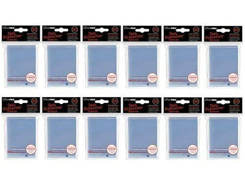 Ultra Pro Standard Deck Clear Protector Sleeves (600-Count) for Gaming Cards