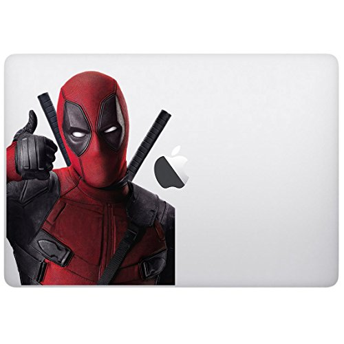 Sticker decal with superhero movies design, Computer Sticker, Laptop Sticker, Macbook Sticker, Ipad Sticker, Computer Decal, Laptop Decal, Ipad Decal. Cool Accessories for Laptop, Computer,
