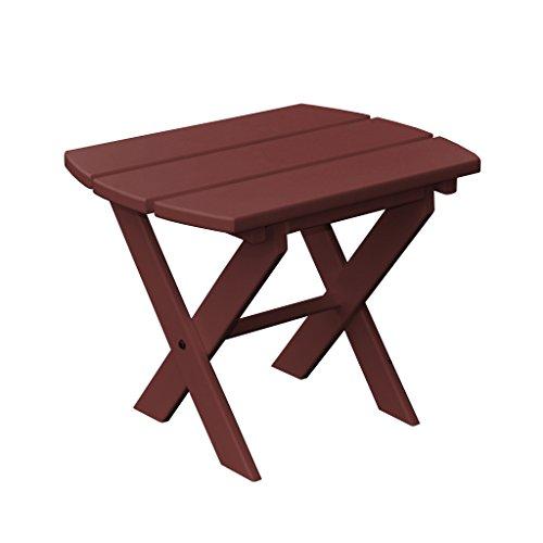 Furniture Barn USA Poly Folding End Table - Cherry Wood