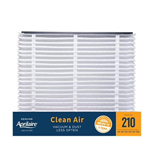 Aprilaire 210 Clean Air Filter for Aprilaire Whole-Home Air Purifiers, MERV 11, For Dust (Pack of 1)