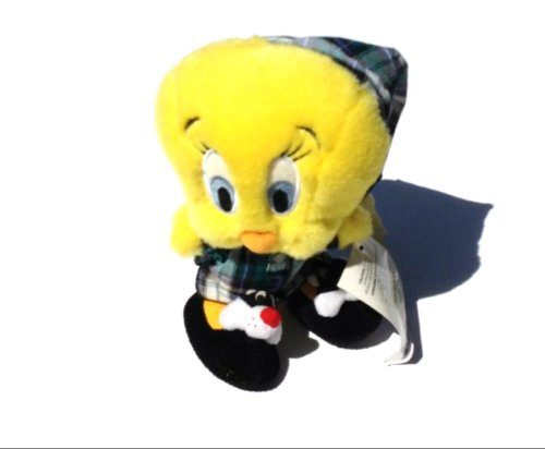 Tweety Bird With Sylvester Slippers Plush Tweety Bird Plush
