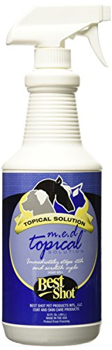 Best Shot Pet M.E.D. Topical Spray, 32 oz (Best Anti Itch Remedy For Bug Bites)