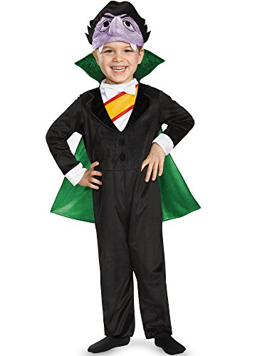 Count Deluxe Toddler Costume, Medium (3T-4T) -