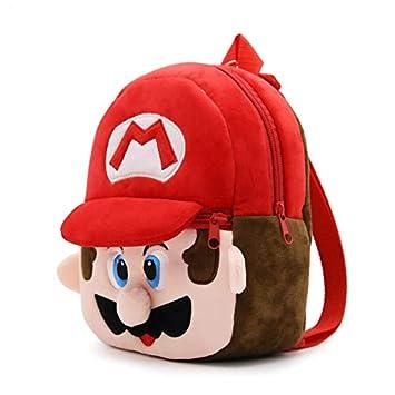 Amazon.com: 1-3Y Children Infant Mochila 3D Kids School Bags Super Mario Plush Backpacks Cartoon Mini Preschool: Kitchen & Dining