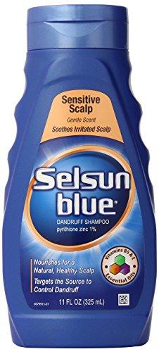Selsun Blue Sensitive Scalp Shampoo, 11 Ounce