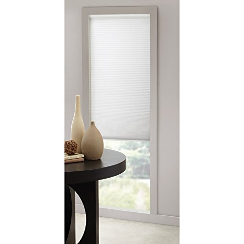 """Insola Cordless Cellular Honeycomb Shade 34"""" W X 64"""" L in Wh"""