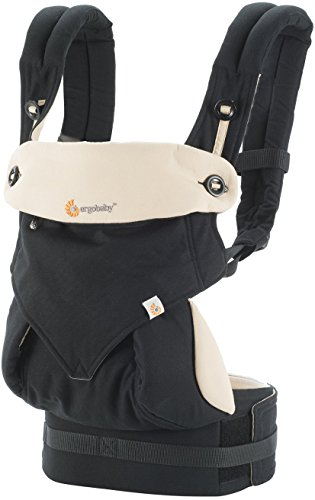 Ergobaby Carrier, 360 All Carry Positions Baby Carrier, Black (Best Rated Infant Carriers)