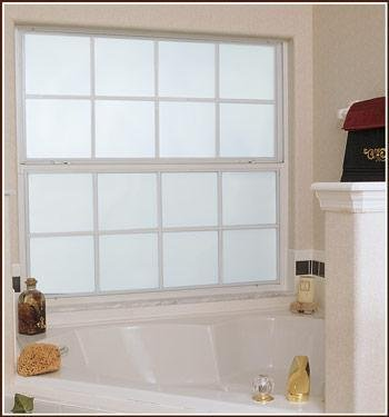 Frosted Glass White Privacy Decorative Window Film 16