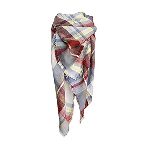 Wrap Conditioning Lotion - Spring Fever Winter Magnetic Knit Tartan Plaid Wrap Cashmere Feel Large Lightweight Scarf for Women A06