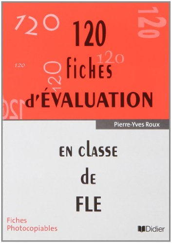 120 Fiches d'Evaluation: Pochette (French Edition)
