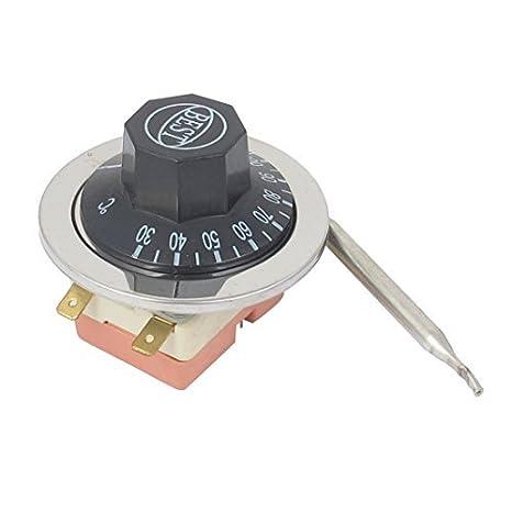 eDealMax AC 250V 16A 30-110C regolabile Controllo della temperatura termostato - - Amazon.com
