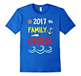 Mens-2017-Family-Cruise-boat-Tshirt-Medium-Royal-Blue