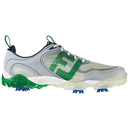 FootJoy Freestyle Golf Shoes 57331 Grey/Green/Navy Mens - 9.5 MEDIUM - Freestyle Mens Green