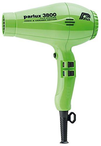 Parlux PAR4182 Professional 3800 Ionic and Ceramic Hair Dryer, Green, 2100 Watt