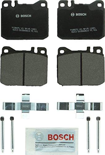 Price comparison product image Bosch BP145 QuietCast Premium Semi-Metallic Disc Brake Pad Set For Select Mercedes-Benz (C,  CE,  CD,  D,  E,  S,  SD,  SDL,  SE,  SEL,  SL,  SLC,  TD) 220,  230,  240,  280,  350,  380,  450,  500 + More; Front