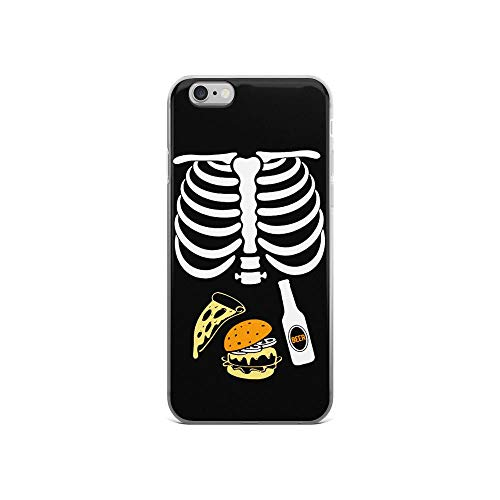 iPhone 6/6s Pure Case Cover Halloween Skeleton Beer Tacos -