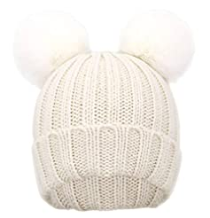 Simplicity Kids Winter Pompom Ears Knitt...