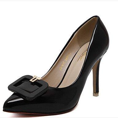 5 Arrière A Talons à Bride ggx Chaussures black Noir Arrière Blanc LvYuan A 9 Printemps à Bride 5 Femme cm Décontracté Polyuréthane 7 4Fw40xT