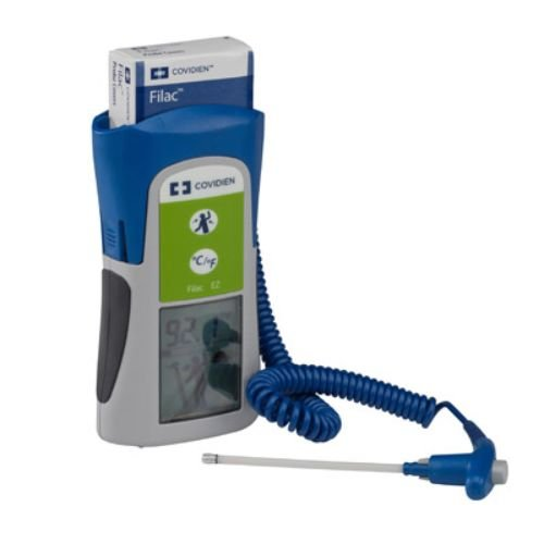Covidien 504027 Filac 3000 EZ Electronic Thermometer, Oral/Axillary Complete System with 9' Cord