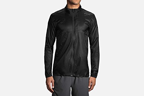 Jacket Brooks Element Mens (Brooks LSD Jacket, Black (L))