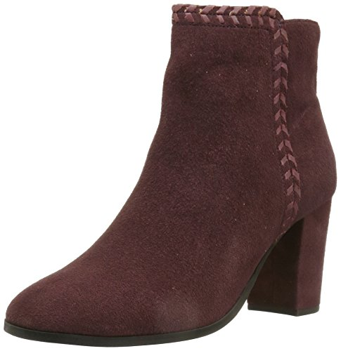 Bootie Heavenly suede Women's Athena wine Alexander Ankle xPT1PFfq