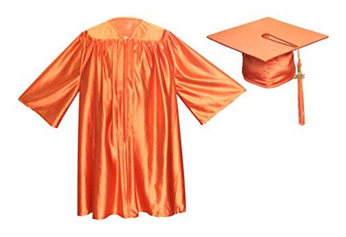 Apparel Group Big Boys' Orange Preschool Cap, Gown & Tassel 30