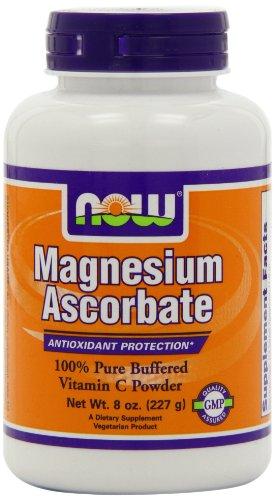 Now Foods magnésium Ascorbate poudre, 8 oz