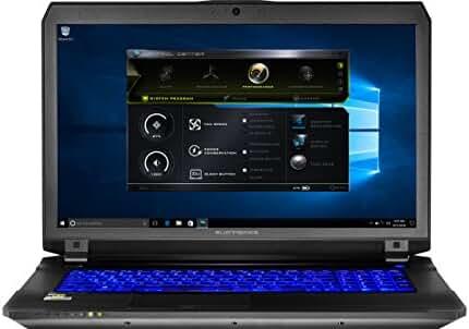 "Eluktronics P670RP6 Premium VR Ready Gaming Laptop - Intel Core i7-6700HQ Quad Core Windows 10 Home 6GB GDDR5 NVIDIA GeForce GTX 1060 17.3"" Full HD IPS 1TB Performance SSD + 1TB HDD 64GB DDR4 RAM"