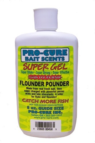 Procure Gel - Pro-Cure Flounder Pounder Super Gel, 8 Ounce
