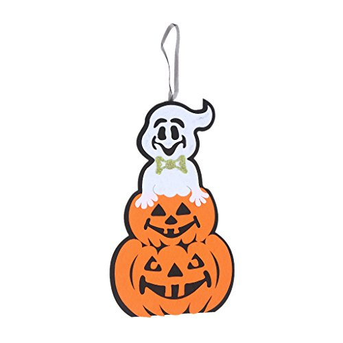 Jesse Halloween Party Decorations Kids Door Wall Non-Woven Hanging, Indoor Outdoor Party Decor Gift Large Party Supplies, Ghost -