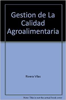Book Gestion de La Calidad Agroalimentaria