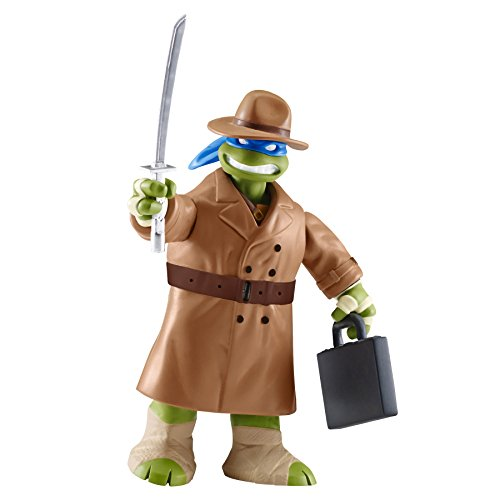 Nickelodeon Teenage Mutant Ninja Turtles Leonardo in 80's Outfit Action Figure]()