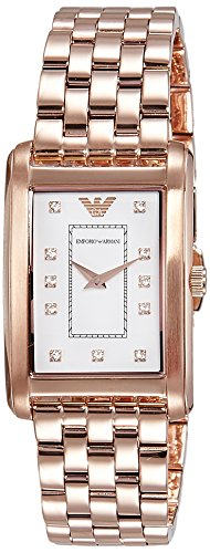 Emporio Armani Women's AR1906 Classic Rose Gold-Tone Stainless Steel Watch