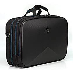 Mobile Edge Alienware Vindicator 2.0 Black Laptop Briefcase, 15 Inch, Scanfast Tsa Checkpoint Friendly, For Men, Women, Students, Gamers Awv15bc2.0