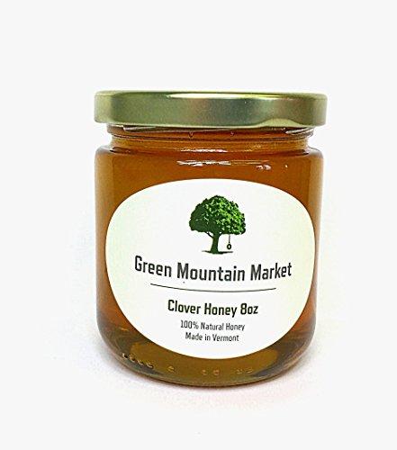 Green Mountain Market Vermont Clover Honey 8oz (Honey Valley Champlain)