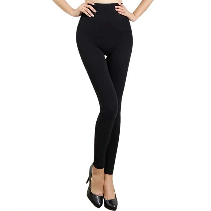 ef7b35d9bb9f80 KEALLI High Waisted Fleece Lined Leggings Women Seamless Soft Slim Opaque Warm  Pants(Black): Amazon.co.uk: Clothing