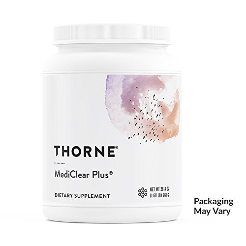 Thorne Research – MediClear Plus – Detox, Cleanse, and Weight Management Support – Rice and Pea Protein-Based Drink Powder with a Complete Multivitamin-Mineral Profile – 26.8 oz Review