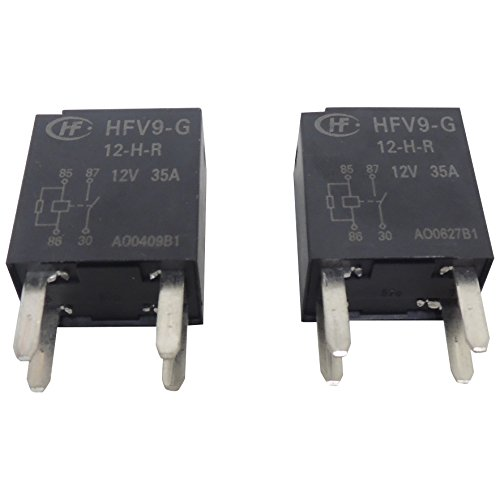 Price comparison product image 19116057 New OEM GM 4-Terminal Main 4 Pin Relay 2-Pack D1786C HFV9-G 12-H-R