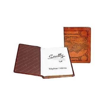 Scully piel Tel/dirección libro antiguo Atlas/Pony - 1145 ...