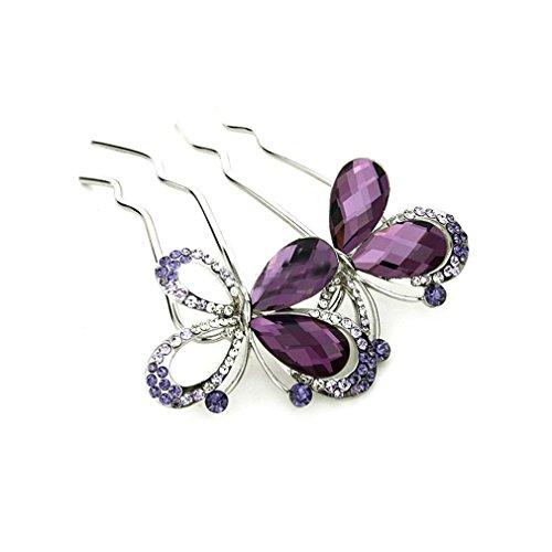 best accessories for purple dress - 7