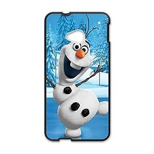 Frozen Black HTC M7 case