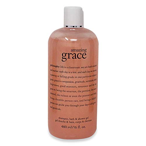 Philosophy Amazing Grace Shampoo, Bath Shower Gel 16 oz